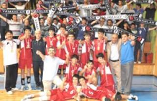 Yamanlar, Voleybolda Türkiye Şampiyonu