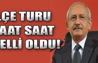 Kılıçdaroğlu'nun İlçe Turu