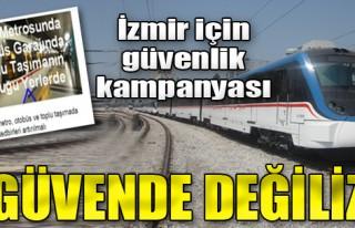 İzmir'de Teröre Karşı Güvenlik Kampanyası