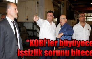 MHP'den Sanayicilere Tam Destek