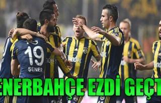 Akhisar Belediyespor 0-3 Fenerbahçe