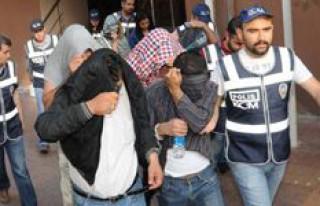 Eskort ajan operasyonunda 11 kişi adliyeye sevkedildi