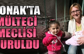 Konak'ta 'Mülteci Meclisi' Kuruldu