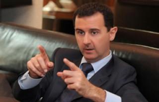 Esad'dan Türkiye'ye Mesaj