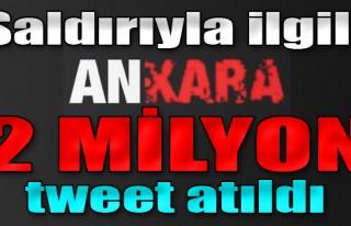 Ankara Saldırısı ile İlgili 2 Milyon Tweet Atıldı