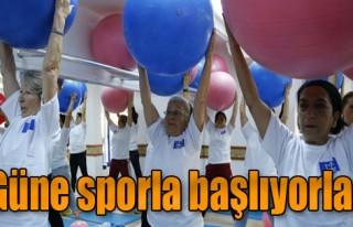 Spor Yap, Güne Zinde Başla