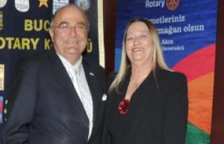 Buca Rotary'den Üye Kabul Töreni