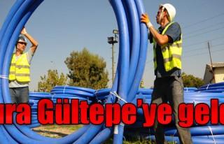 İZSU'dan Gültepe'ye Yatırım