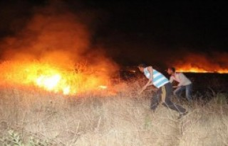 Yangına TOMA'larla Müdahale