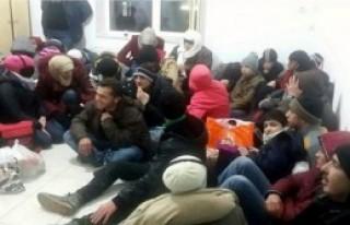 4 Günde 376 Mülteci Yakalandı