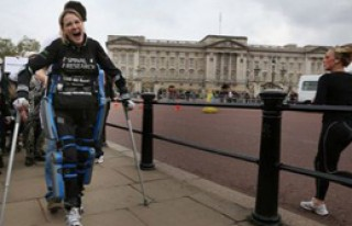 Londra Maratonu'nu 16 Günde Bitirdi