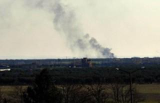 Suriye'de Hristiyan Köyü Vuruldu