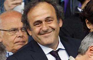 Platini'den Galatasaray'a Güvence
