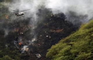 Pakistan'da Uçak Düştü