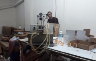 Sahte parfüm operasyonu