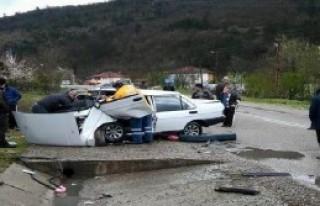 Bartın'da Kaza: 4 Yaralı