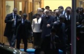Başbakan Ahmet Davutoğlu İstanbul'da