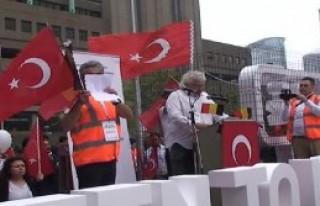 Belçika'da  'Ermeni Soykırımı' Protestosu