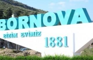 'Bornova' Yazısı Renk Kattı