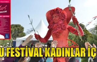 Kadınlar İçin Renkli Festival