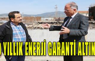 100 Yıllık enerji garanti altında!