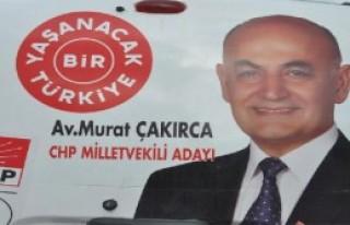 CHP Adayı Kazada Yaralandı