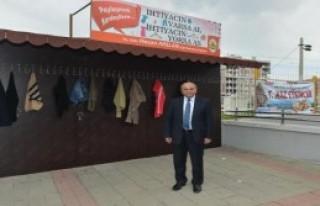 Çiğli'de Askıda Giysi Uygulaması