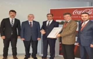 Coca Cola Bursa Fabrikasına Avrupa'dan Ödül
