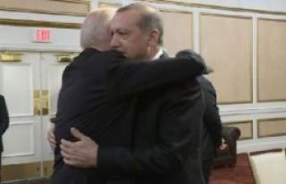Erdoğan, ABD'de Biden ile Görüşüyor
