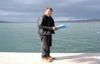 Cunda Adası'nda Moloz Tepesi Oluştu