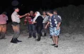 Botları Batan Kaçaklar Ölümden Döndü