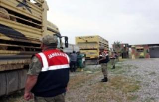 650 Küçükbaş Kaçak Hayvan Ele Geçirildi