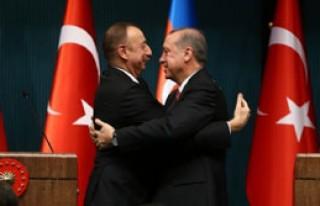 Erdoğan, Aliyev'i Ağırladı