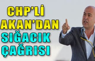 CHP'li Bakan'dan Sığacık çağrısı
