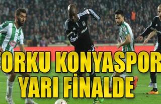 Torku Konyaspor:1-Beşiktaş:0
