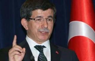 Davutoğlu HDP'ye Yüklendi