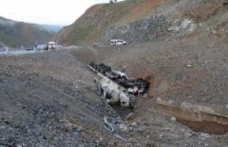 Erzincan'da TIR Sürücüsü Ölüme Uçtu