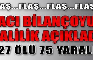 Ankara'da Patlamanın Bilançosu Ağır