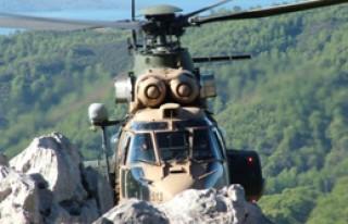 Hizan'da Teröristlere Helikopter Destekli Operasyon