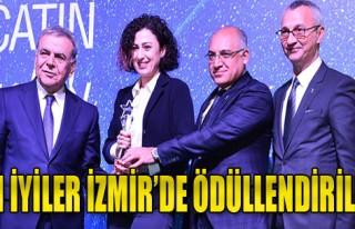 İzmir'de Ödül Gecesi