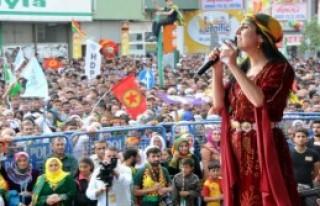 HDP Van'da Seçim Zaferini Kutladı
