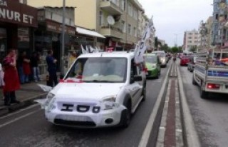 HDP'den Çanakkale'de Zafer Turu