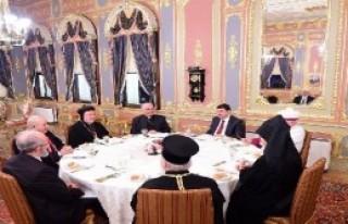 Şahin Dini Liderlerle Bir Araya Geldi