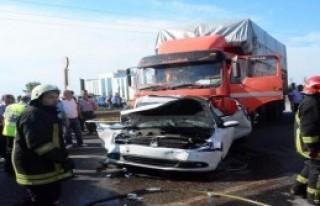Tekirdağ'da Kaza: 4 Yaralı