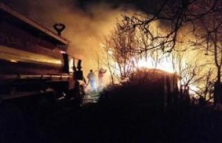 Karabük'te Tek Katlı Ev Yandı: 1 Ölü