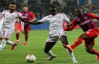 Karabükspor- Samsunspor: 1-0