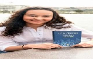 Liseli Elif Naz'ın romanı yayımlandı