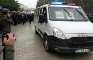 Mardin'de Şehitler İçin Uğurlama Töreni