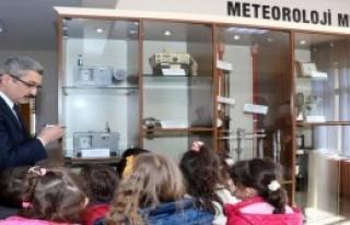Meteoroloji Müzesi'ne 3 Bin 500 Ziyaretçi