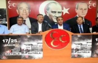 MHP'li Öztürk'ten Sert Açıklamalar